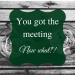 Coffee Meetings 101: Are you ready?