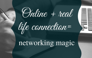 Online vs. Real Networking