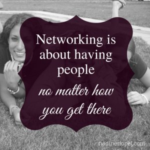 What networking means