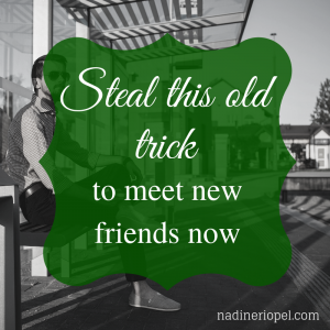 friends, neighbours, meet new people, meet people in your area
